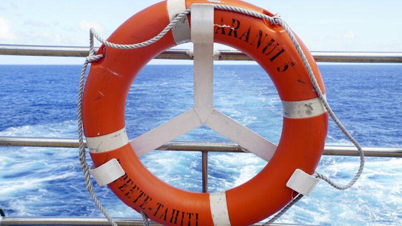 Die Aranui 5 kreuzt durch die Gewässer Französisch Polynesiens © Diamir
