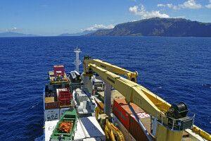 Der Frachtbereich der Aranui 5