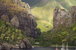Die spektakulärste Bucht der Südsee - Hanavave auf Fatu Hiva