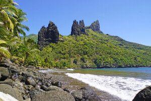 Bucht von Hatiheu auf Nuku Hiva