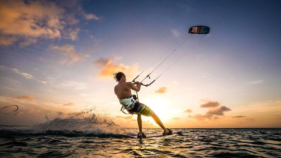 Kitesurfen auf Barbados