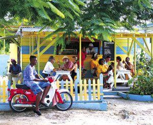 Street Food auf Jamaika