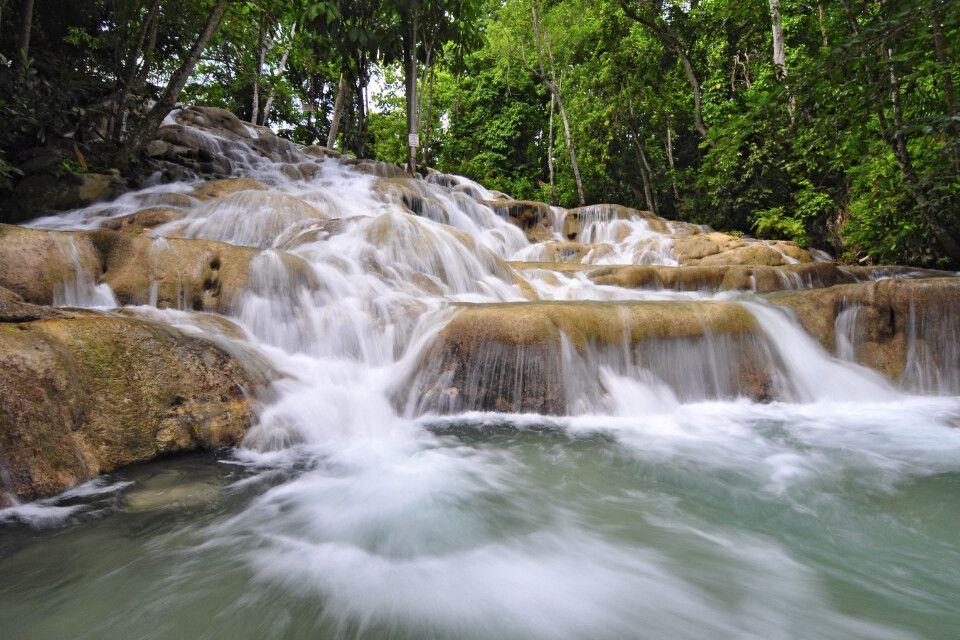 Die Wasserfälle des Dunns River