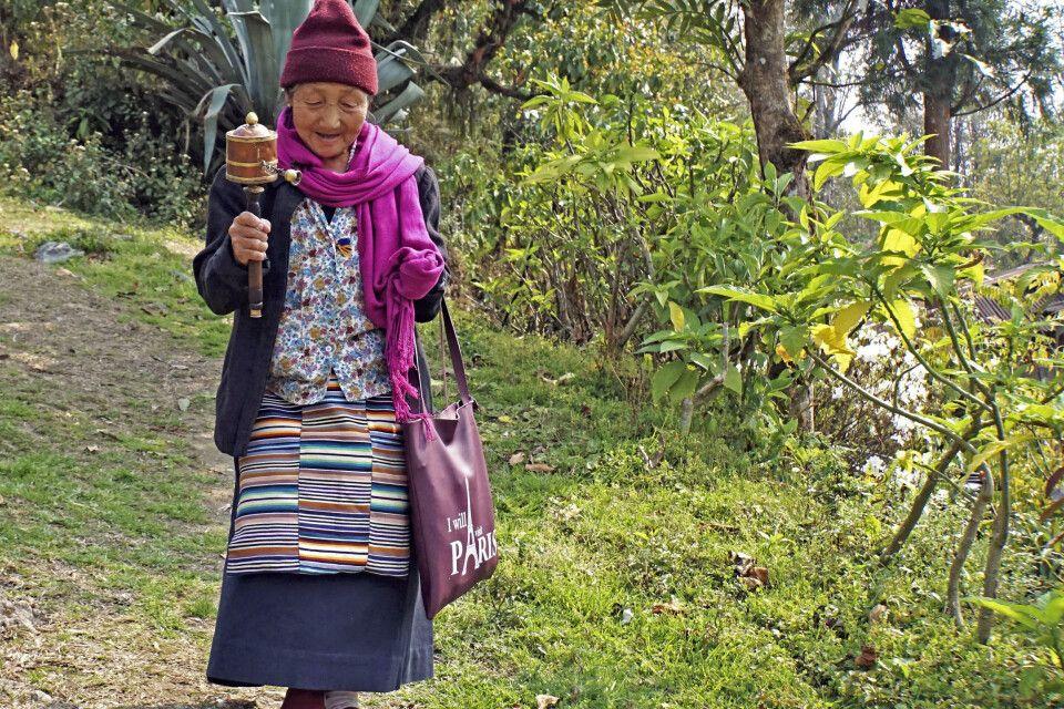 Wanderung zum Kloster Tashiding in Sikkim