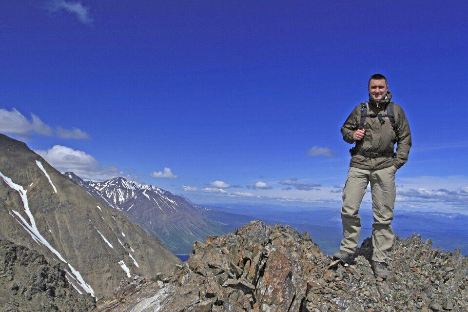 Kleines Gipfelglück im Yukon