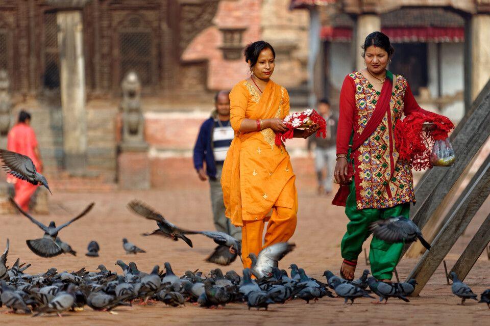 Szene in Bhaktapur