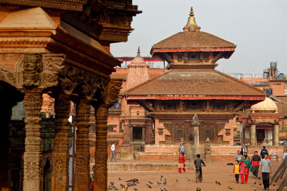 Unterwegs in der alten Königsstadt Bhaktapur