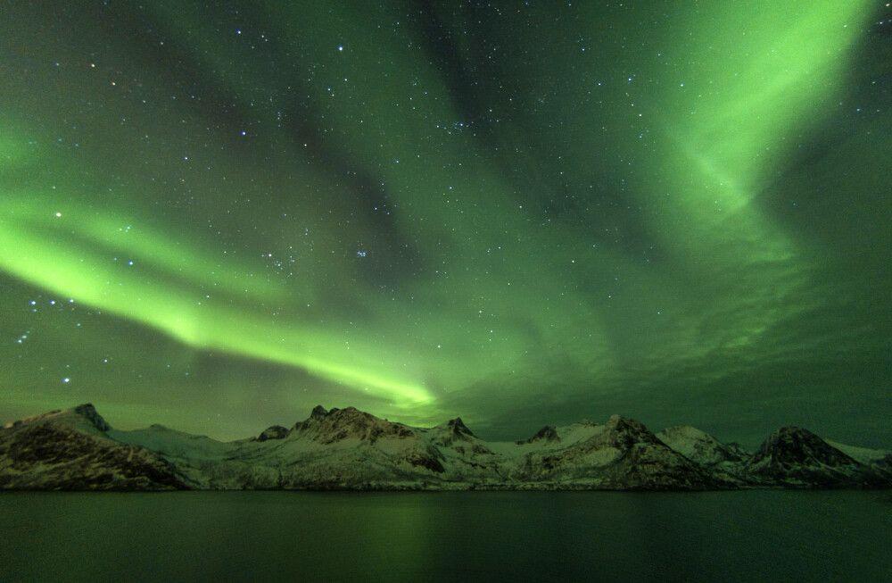 Traumhaftes Polarlicht