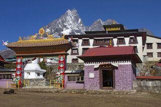 Sherpa-Kloster von Tengboche (3860 m)