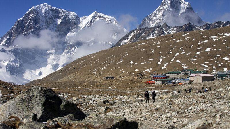 Trekking nach Lobuche (4910m) © Diamir