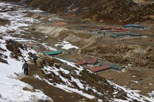 Der kleine Ort Machhermo auf 4410 m Höhe