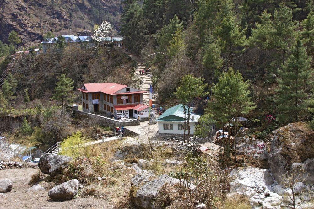 Dorf zwischen Namche Bazar und Lukla