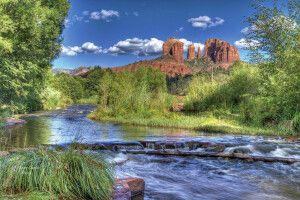 Red Rock Crossing bei Sedona, Arizona