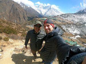 Blick auf Dole (4050 m)