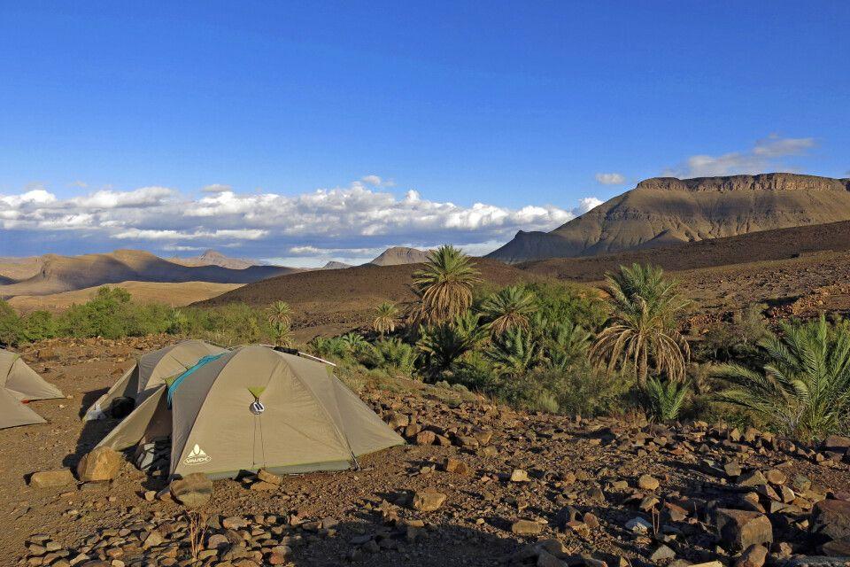 Übernachtungsplatz im Saghro Gebirge