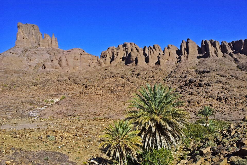 Blick auf den Bab n'Ali im Saghro Gebirge