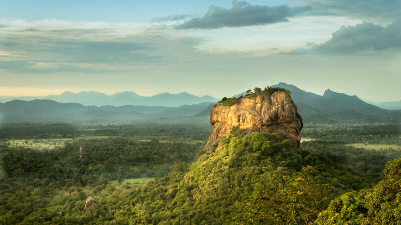 Sigiriya Rock © Diamir