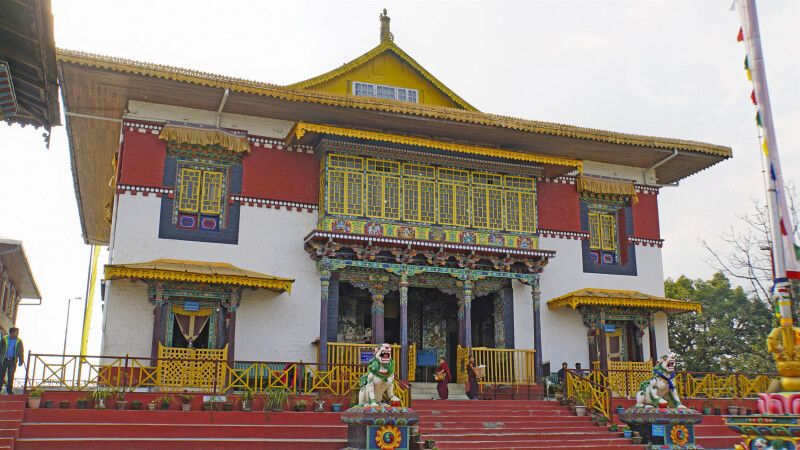 Kloster Pemayangtse in Sikkim © Diamir
