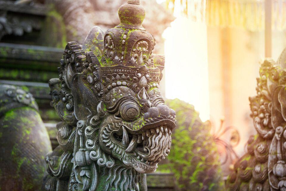 Balinesische Steinskulptur