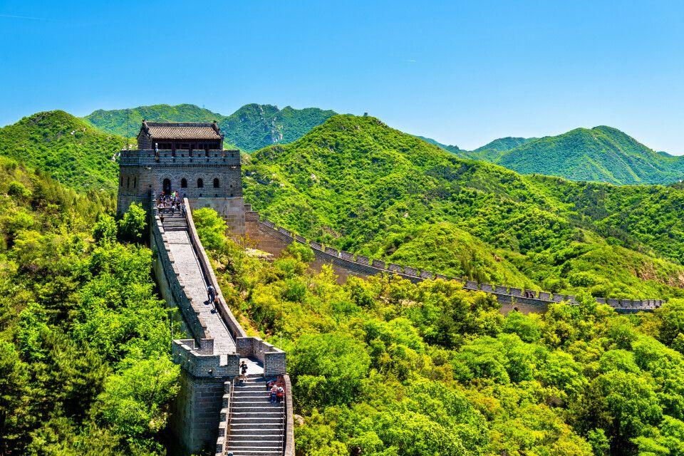 Die Chinesische Mauer in Badaling