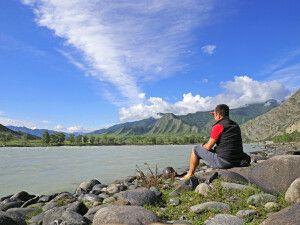 Am Fluss Katun