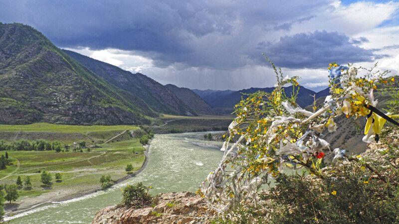 Der Fluss Katun im Altai © Diamir