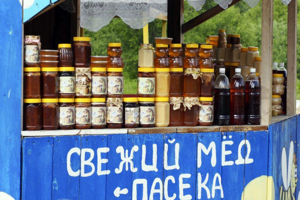 Schmackhafter Honig überall