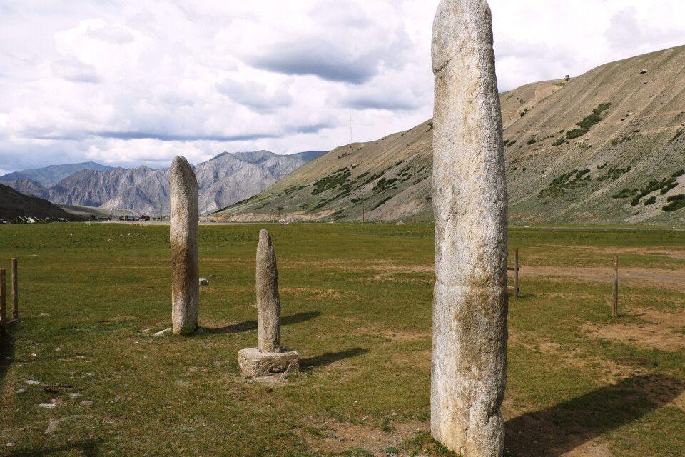Mystische Steinstelen
