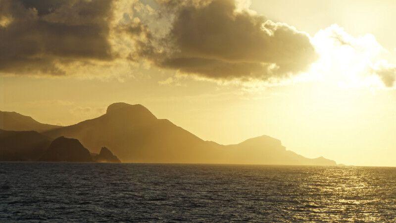 Sonnenuntergang in der Südsee © Diamir
