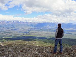Blick in die Kuray-Steppe