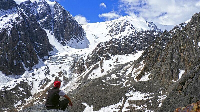 Aussicht auf Gletscher © Diamir