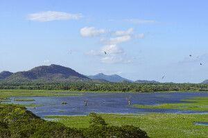 Stauseee in Tissamaharama