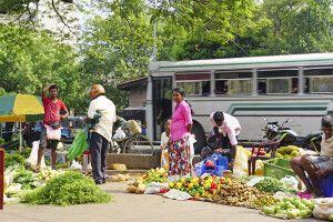 Markt in Colombo
