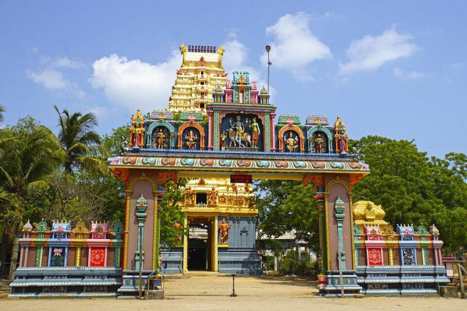 Maradanamadam-Hanuman-Tempel auf Jaffna