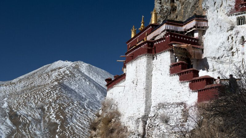 Drak Yerpa Kloster, Tibet © Diamir
