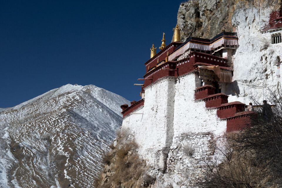 Drak-Yerpa-Kloster in Tibet