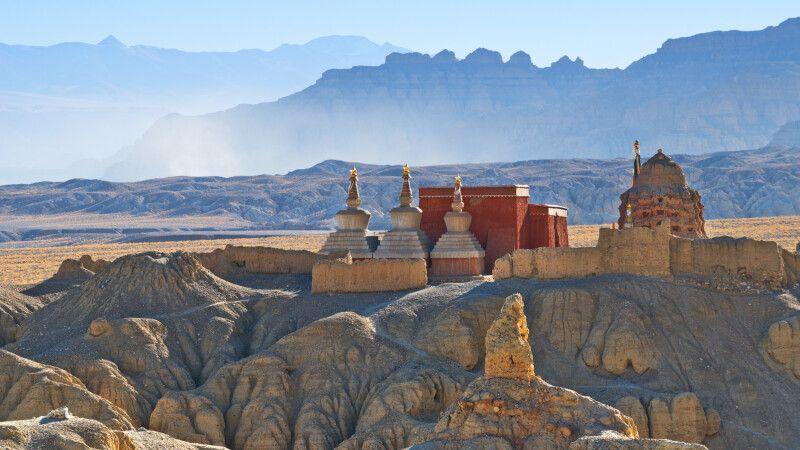 Stupa und Kloster Guge in Tibet © Diamir