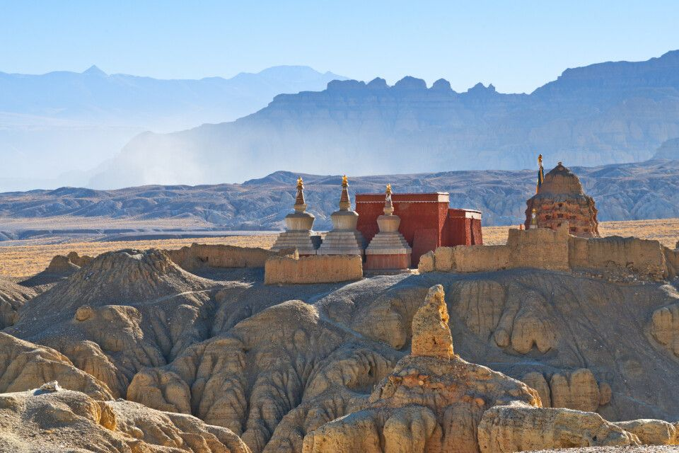 Stupa und Kloster Guge in Tibet
