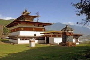 Chime-Lhakhang-Tempel