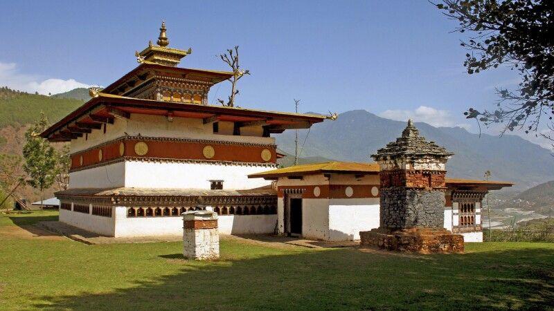 Chime-Lhakhang-Tempel © Diamir