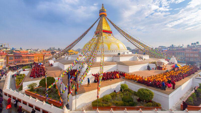 Boudhanath Stupa in Kathmandu © Diamir