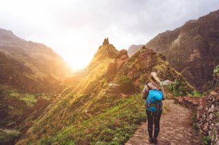 Trekkingroute auf Santo Antao