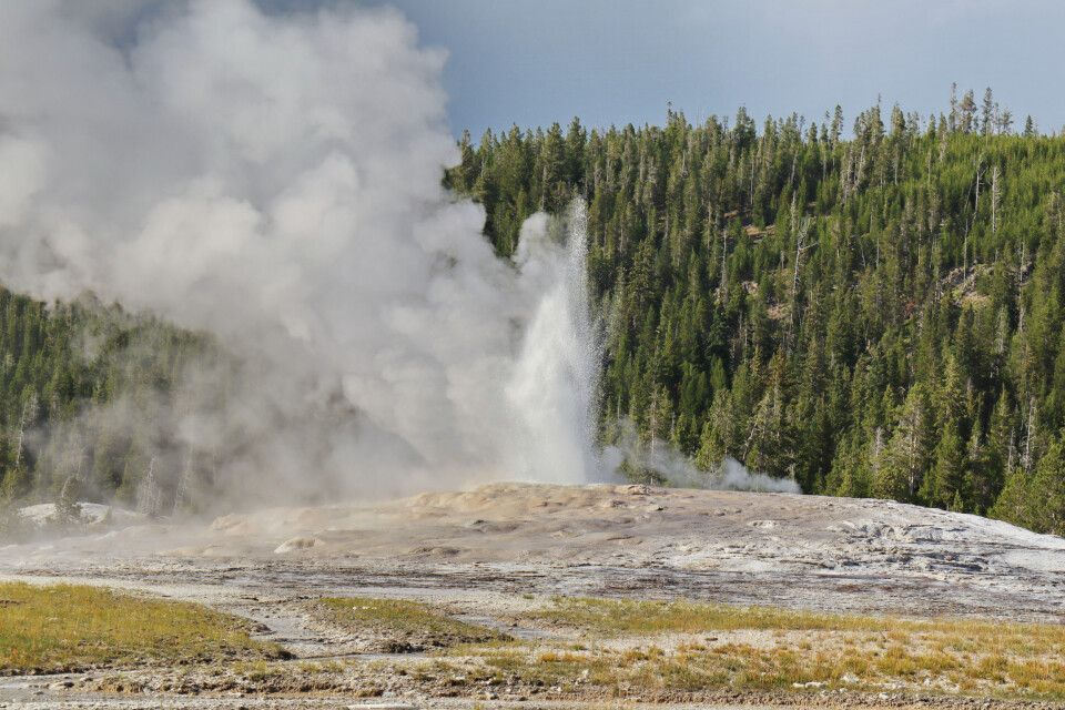 Yellowston NP - Upper Geyser Bassin - Old Faithful