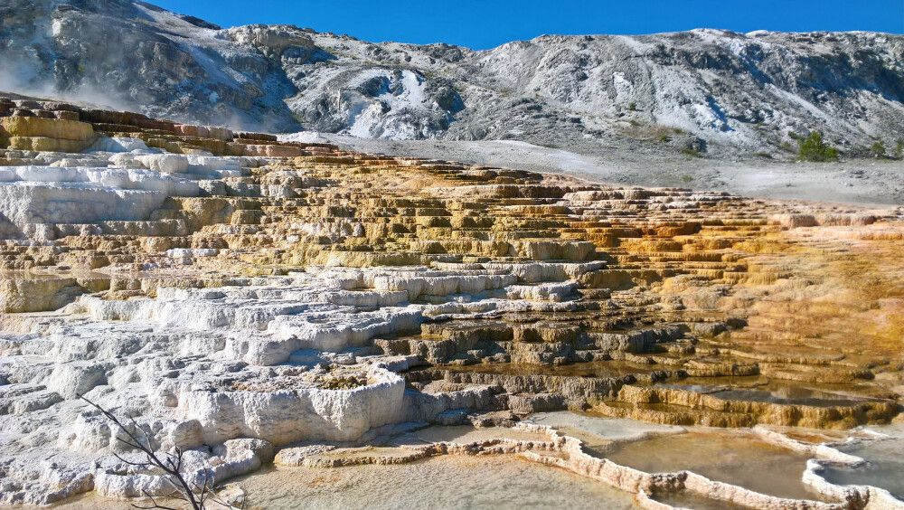 Yellowston NP – Mammoth Hot Springs