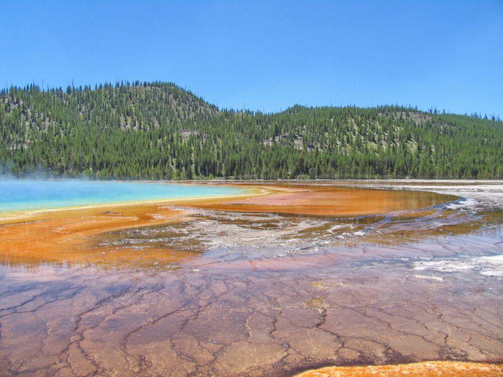 Yellowston NP. – Midway Geysir Basin