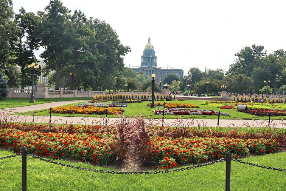 Denver - Park und Capitol
