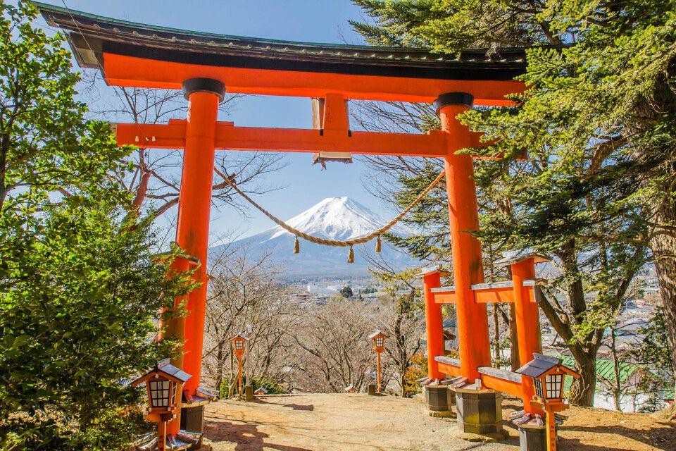 Unterwegs zum Fuji