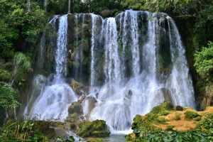 El Nicho Wasserfall, in den Scambray Mountains. Provinz Cienfuegos