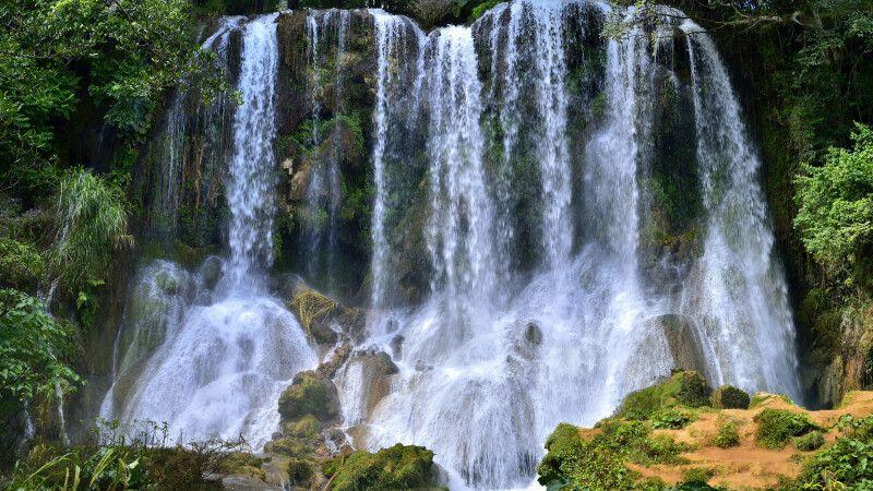 El Nicho Wasserfall, in den Scambray Mountains. Provinz Cienfuegos © Diamir