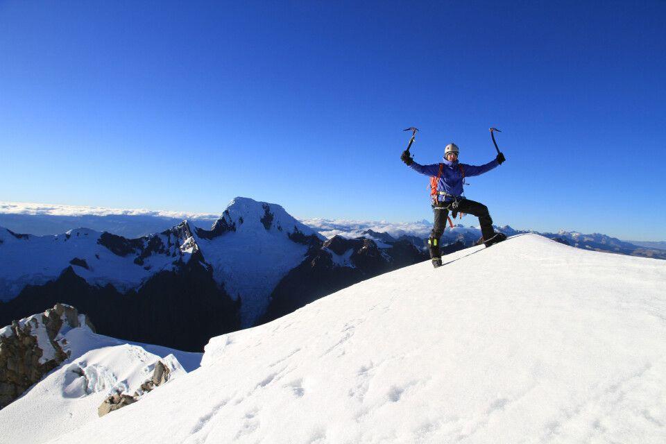Nevado Cashan (5723 m), Cordillera Blanca